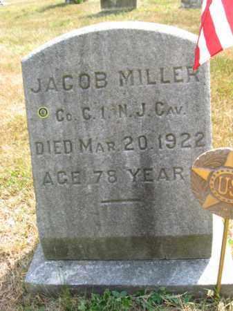 MILLER, JACOB - Burlington County, New Jersey | JACOB MILLER - New Jersey Gravestone Photos