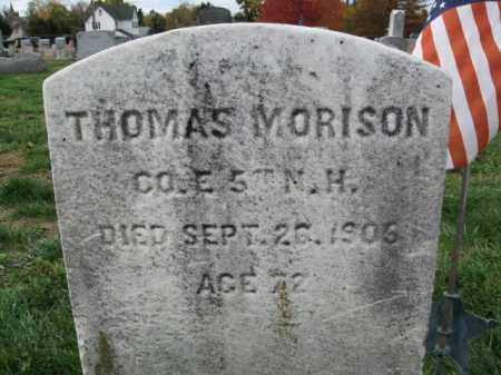 MORISON, THOMAS - Burlington County, New Jersey | THOMAS MORISON - New Jersey Gravestone Photos