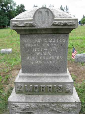 MORRIS, WILLIAM K. - Burlington County, New Jersey | WILLIAM K. MORRIS - New Jersey Gravestone Photos