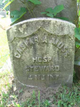 MUSS, CASPER  (CASPAR) A. - Burlington County, New Jersey | CASPER  (CASPAR) A. MUSS - New Jersey Gravestone Photos