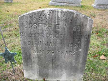 NIXON, JOSEPH E. - Burlington County, New Jersey   JOSEPH E. NIXON - New Jersey Gravestone Photos