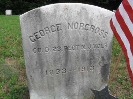NORCROSS, GEORGE - Burlington County, New Jersey   GEORGE NORCROSS - New Jersey Gravestone Photos