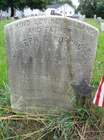 NORCROSS, JOSEPH A. - Burlington County, New Jersey | JOSEPH A. NORCROSS - New Jersey Gravestone Photos