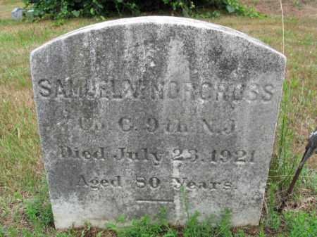 NORCROSS, SAMUEL V. - Burlington County, New Jersey | SAMUEL V. NORCROSS - New Jersey Gravestone Photos