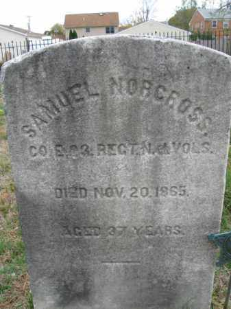 NORCROSS, SAMUEL - Burlington County, New Jersey | SAMUEL NORCROSS - New Jersey Gravestone Photos