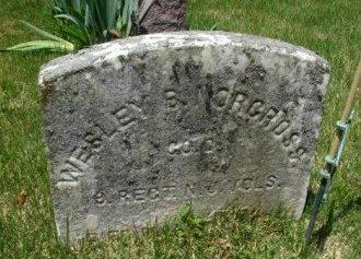 NORCROSS, WESLEY B. - Burlington County, New Jersey   WESLEY B. NORCROSS - New Jersey Gravestone Photos