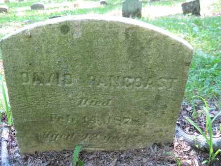 PANCOAST, DAVID - Burlington County, New Jersey | DAVID PANCOAST - New Jersey Gravestone Photos