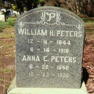 PETERS AKA VENABLE, WILLIAM H. - Burlington County, New Jersey | WILLIAM H. PETERS AKA VENABLE - New Jersey Gravestone Photos