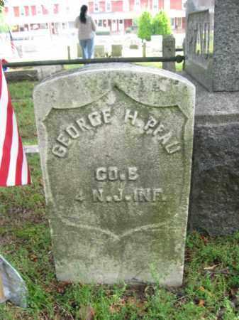 PFAU (PHAU), GEORGE H. - Burlington County, New Jersey   GEORGE H. PFAU (PHAU) - New Jersey Gravestone Photos