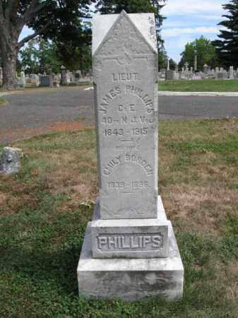 PHILLIPS, LT.JAMES - Burlington County, New Jersey | LT.JAMES PHILLIPS - New Jersey Gravestone Photos
