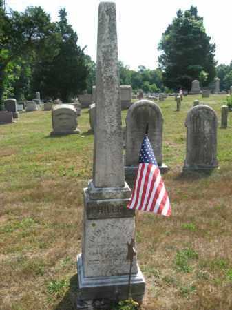 PHILLIPS, THOMAS T. - Burlington County, New Jersey | THOMAS T. PHILLIPS - New Jersey Gravestone Photos