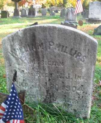 PHILLIPS, WILLIAM - Burlington County, New Jersey   WILLIAM PHILLIPS - New Jersey Gravestone Photos