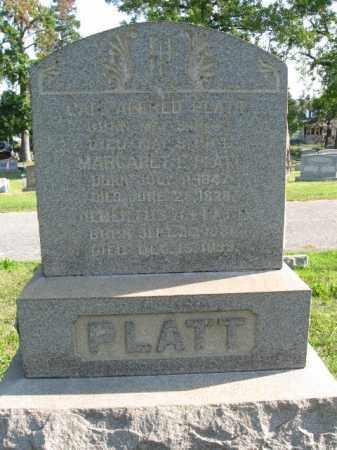PLATT, CAPT.ALFRED - Burlington County, New Jersey | CAPT.ALFRED PLATT - New Jersey Gravestone Photos