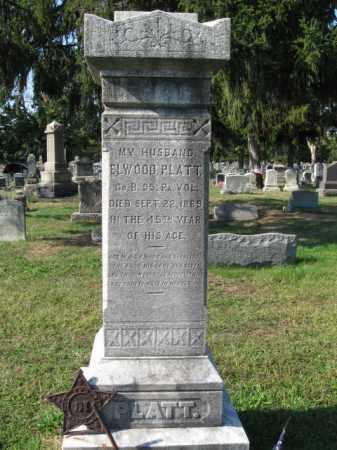 PLATT, ELWOOD - Burlington County, New Jersey | ELWOOD PLATT - New Jersey Gravestone Photos