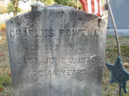 POWELL, CHARLES C. - Burlington County, New Jersey   CHARLES C. POWELL - New Jersey Gravestone Photos