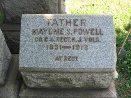 POWELL, MAYUME S. - Burlington County, New Jersey | MAYUME S. POWELL - New Jersey Gravestone Photos