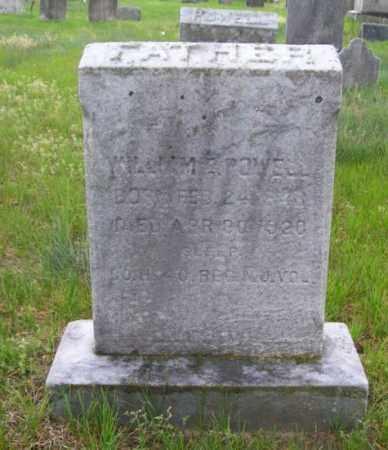 POWELL, WILLIAM E. - Burlington County, New Jersey | WILLIAM E. POWELL - New Jersey Gravestone Photos