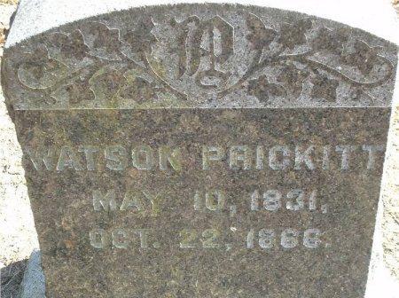 PRICKITT, E. WATSON - Burlington County, New Jersey | E. WATSON PRICKITT - New Jersey Gravestone Photos