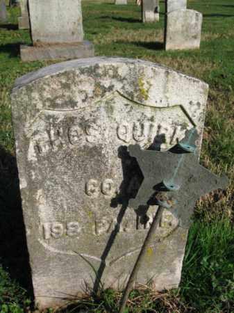 QUIRK, THOMAS R. - Burlington County, New Jersey | THOMAS R. QUIRK - New Jersey Gravestone Photos