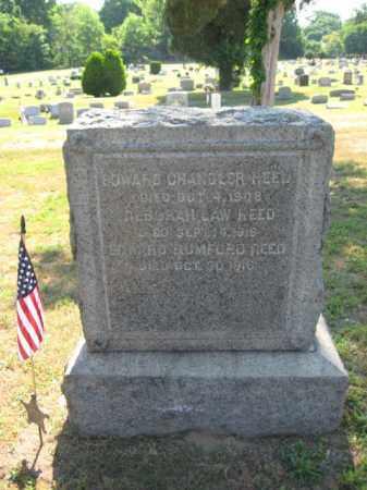 REED, EDWARD CHANDLER - Burlington County, New Jersey | EDWARD CHANDLER REED - New Jersey Gravestone Photos