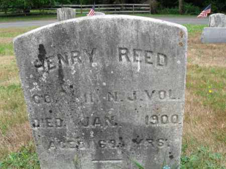 REED, HENRY - Burlington County, New Jersey | HENRY REED - New Jersey Gravestone Photos