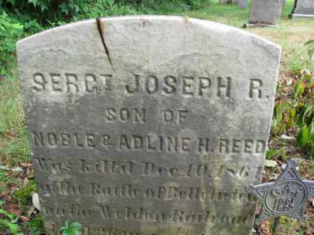REED, SGT. JOSEPH R. - Burlington County, New Jersey   SGT. JOSEPH R. REED - New Jersey Gravestone Photos