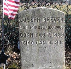 REEVES, JOSEPH - Burlington County, New Jersey | JOSEPH REEVES - New Jersey Gravestone Photos