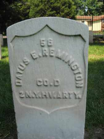 REMINGTON, PVT.DATUS E. - Burlington County, New Jersey | PVT.DATUS E. REMINGTON - New Jersey Gravestone Photos