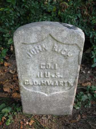 RICH, JOHN - Burlington County, New Jersey   JOHN RICH - New Jersey Gravestone Photos