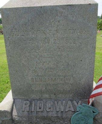 RIDGWAY, SOLOMON F. - Burlington County, New Jersey | SOLOMON F. RIDGWAY - New Jersey Gravestone Photos