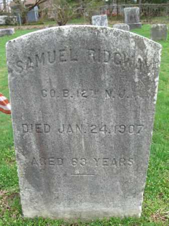 RIDGWAY, SAMUEL - Burlington County, New Jersey | SAMUEL RIDGWAY - New Jersey Gravestone Photos