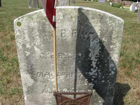 RINEAR, JOHN B. - Burlington County, New Jersey | JOHN B. RINEAR - New Jersey Gravestone Photos