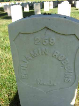 ROBBINS, BENJAMIN - Burlington County, New Jersey | BENJAMIN ROBBINS - New Jersey Gravestone Photos