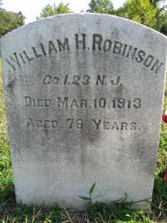 ROBINSON, WILLIAM H. - Burlington County, New Jersey   WILLIAM H. ROBINSON - New Jersey Gravestone Photos