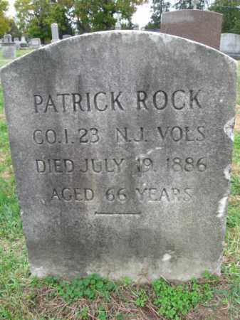 ROCK, PATRICK - Burlington County, New Jersey | PATRICK ROCK - New Jersey Gravestone Photos