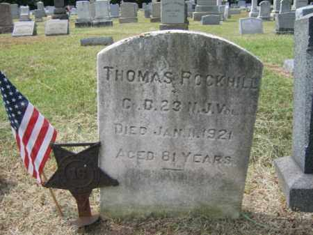 ROCKHILL, THOMAS - Burlington County, New Jersey   THOMAS ROCKHILL - New Jersey Gravestone Photos