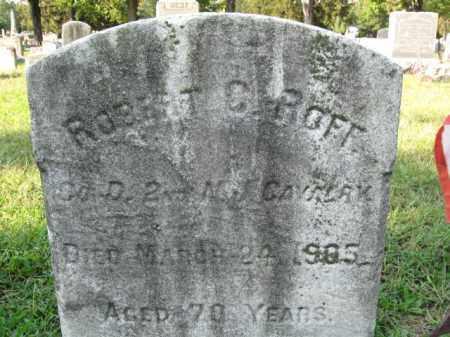 ROFF, ROBERT C. - Burlington County, New Jersey   ROBERT C. ROFF - New Jersey Gravestone Photos