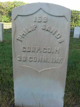 SANDS, CORP.PHILIP - Burlington County, New Jersey | CORP.PHILIP SANDS - New Jersey Gravestone Photos