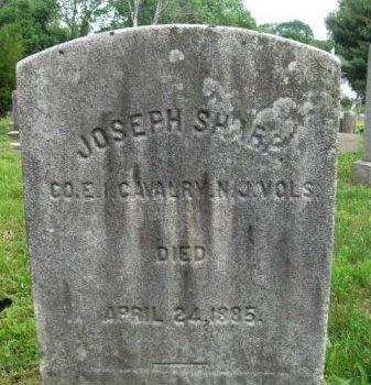 SHARP, JOSEPH - Burlington County, New Jersey | JOSEPH SHARP - New Jersey Gravestone Photos