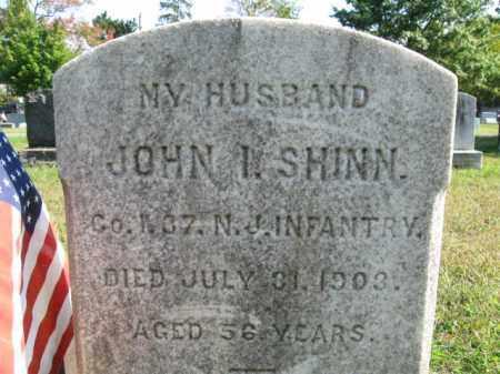 SHINN, JOHN I. (J) - Burlington County, New Jersey   JOHN I. (J) SHINN - New Jersey Gravestone Photos