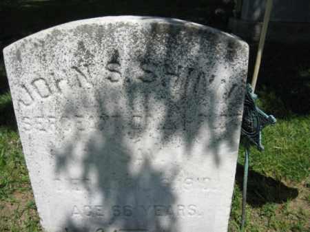 SHINN, JOHN S. - Burlington County, New Jersey | JOHN S. SHINN - New Jersey Gravestone Photos
