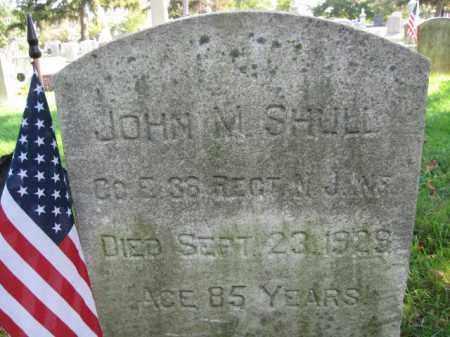 SHULL, JOHN M. - Burlington County, New Jersey | JOHN M. SHULL - New Jersey Gravestone Photos