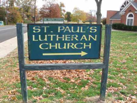 SIGN, CEMETERY CHURCH - Burlington County, New Jersey   CEMETERY CHURCH SIGN - New Jersey Gravestone Photos