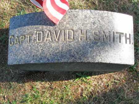 SMITH, CAPT. DAVID H. - Burlington County, New Jersey | CAPT. DAVID H. SMITH - New Jersey Gravestone Photos