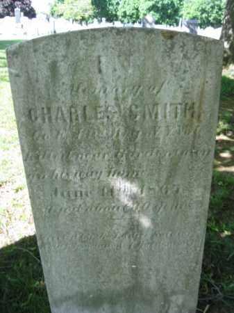 SMITH, CHARLES F. - Burlington County, New Jersey   CHARLES F. SMITH - New Jersey Gravestone Photos