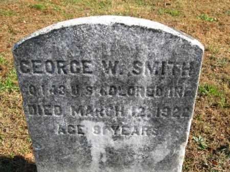 SMITH, GEORGE W. - Burlington County, New Jersey | GEORGE W. SMITH - New Jersey Gravestone Photos