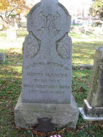 SMITH, HENRY H. - Burlington County, New Jersey | HENRY H. SMITH - New Jersey Gravestone Photos