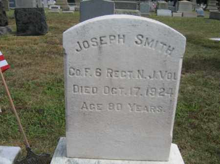 SMITH, JOSEPH - Burlington County, New Jersey | JOSEPH SMITH - New Jersey Gravestone Photos