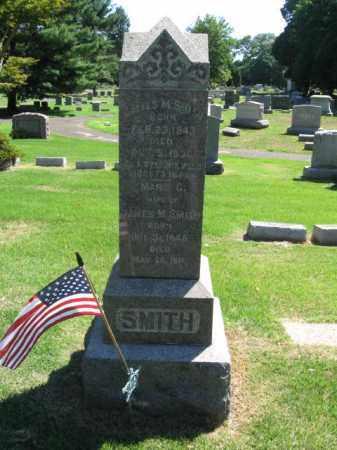 SMITH, JAMES M. - Burlington County, New Jersey | JAMES M. SMITH - New Jersey Gravestone Photos