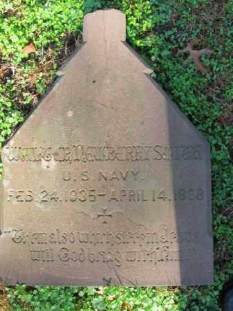 SMITH, WALTER NEWBERRY - Burlington County, New Jersey | WALTER NEWBERRY SMITH - New Jersey Gravestone Photos